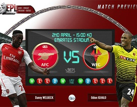 Arsenal - Watford: Cơ hội phục thù