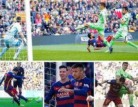 Messi đá hỏng phạt đền, Barca vẫn hạ Getafe 6-0