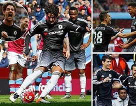 Pato tỏa sáng, Chelsea đè bẹp Aston Villa