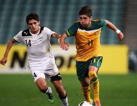 U23 Australia mang tin vui cho U23 Việt Nam