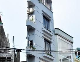 Nhà mỏng như bức tường lại mọc lên ở Hà Nội
