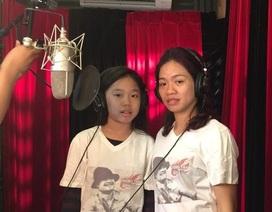 """Clip vợ và con gái Trần Lập hòa giọng cùng các nghệ sĩ trong """"Đường đến ngày vinh quang"""""""
