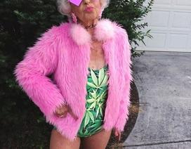 """Cụ bà 88 """"làm lố"""" với thời trang tuổi teen"""