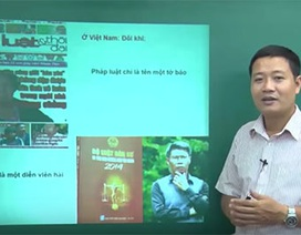 """Video bài giảng môn Giáo dục công dân: """"Công dân bình đẳng trước pháp luật"""""""