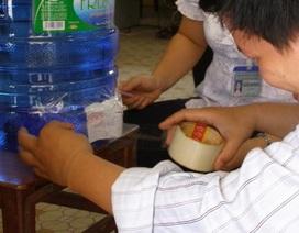 Nhiều mẫu nước uống đóng bình không đạt