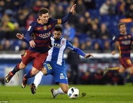 """""""Vượt ải"""" Espanyol, Barcelona tiến vào tứ kết Cúp Nhà vua"""