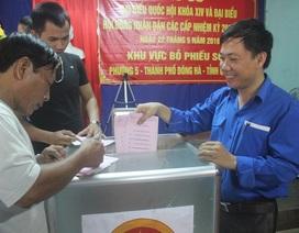 69 triệu cử tri cả nước đi bầu cử
