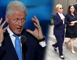 Ông Bill Clinton buột miệng tiết lộ bệnh tình của vợ
