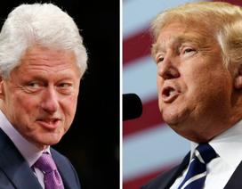 """Ông Trump và Clinton """"khẩu chiến"""""""