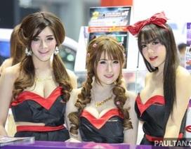 Những cô gái xinh đẹp của Bangkok Motor Show 2016