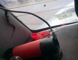 Không điều tra vụ bình chữa cháy phát nổ trong ô tô