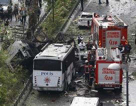 Đánh bom xe rung chuyển Istanbul, ít nhất 11 người thiệt mạng