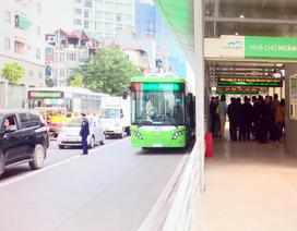 Lấn làn của xe buýt nhanh có thể bị phạt tới 1,2 triệu đồng