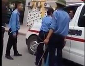 Đuổi việc 3 bảo vệ trong clip chặn xe cứu thương