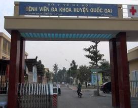 Bệnh viện Quốc Oai khẳng định không giữ bệnh nhi, nhận nhiều thiếu sót