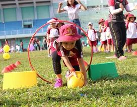"""Trẻ chơi thỏa thích - học say mê cùng """"Ngày hội Thể thao"""""""