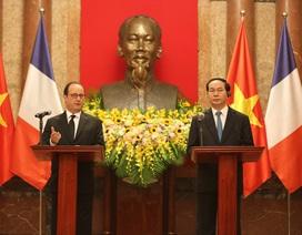 Tổng thống Pháp ủng hộ Việt Nam trong nỗ lực bảo vệ chủ quyền