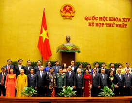 5 Phó Thủ tướng, 17 Bộ trưởng được Quốc hội phê chuẩn