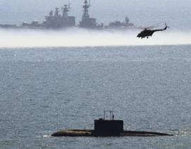 Ngắm ảnh Hạm đội Thái Bình Dương Nga diễn tập quân sự