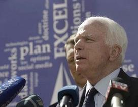 John McCain bất bình vì Mỹ trì hoãn tuần tra Biển Đông