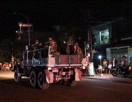 Xe quân đội Campuchia bao vây trụ sở Đảng đối lập