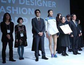 Cô gái Việt đầu tiên chiến thắng cuộc thi thiết kế thời trang lớn nhất Nhật Bản