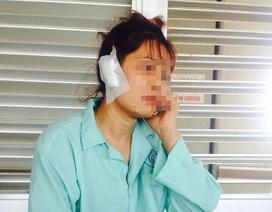 Một phụ nữ bị chồng cắn rớt tai