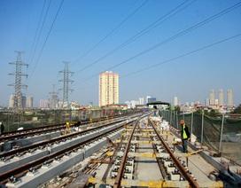 """Còn 2 ngày để """"chốt"""" hạ tầng chạy tàu đường sắt Cát Linh - Hà Đông"""