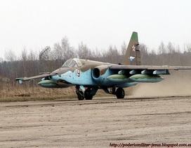 Su-25SM3 xuất hiện tại Syria với hệ thống tự vệ Vitebsk mới