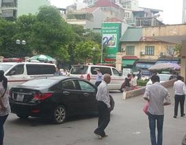 Lãnh đạo 3 bệnh viện lớn nhất Hà Nội lên tiếng vụ chặn xe cứu thương