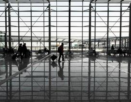 Cháy lớn tại sân bay quốc tế Thượng Hải