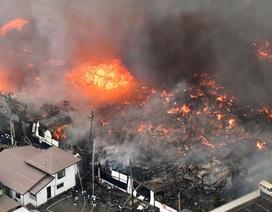 Cháy nhà hàng Trung Quốc, 140 tòa nhà ở Nhật bị thiêu rụi