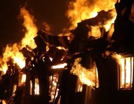Cháy kinh hoàng trong khu công nghiệp, thiệt hại hàng chục tỷ đồng