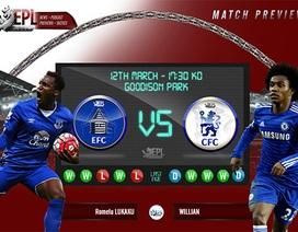 Everton - Chelsea: Cơ hội cuối của Hiddink