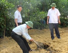 Chuyển hồ sơ vụ chôn lấp chất thải của Formosa cho cơ quan điều tra