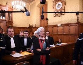 Tổng Giám đốc điều hành IMF Christine Lagarde bị kết tội tắc trách