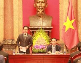 Chủ tịch nước gặp mặt đại biểu doanh nhân tiêu biểu làm theo lời Bác