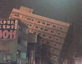Vụ động đất ở Đài Loan: Bắt giữ nhà thầu tòa chung cư 17 tầng