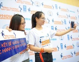 """3.000 sinh viên Thái Nguyên chung tay """"xóa bỏ định kiến giới"""""""
