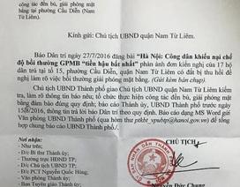Hà Nội: Bị người dân khiếu nại, UBND quận Nam Từ Liêm xem xét lại chế độ bồi thường