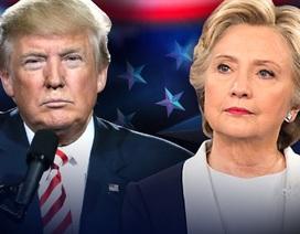 Bà Clinton hơn ông Trump 1,5 triệu phiếu bầu phổ thông