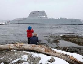 Clip tàu khu trục đáng sợ nhất Mỹ thử lần cuối