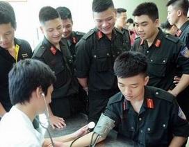 Thực hiện BHYT đối với sĩ quan, hạ sĩ quan, chiến sĩ CAND