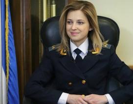 Trưởng công tố xinh đẹp của Crimea - ngôi sao đang lên trên chính trường Nga