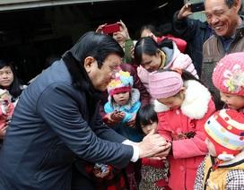 Chủ tịch nước thăm đồng bào, chiến sĩ tại Cao Bằng, Bắc Kạn