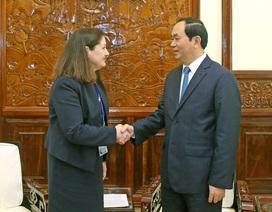 Chủ tịch nước tin tưởng các doanh nghiệp Hoa Kỳ sẽ thành công tại Việt Nam