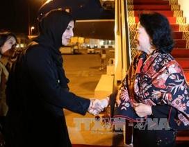 Chủ tịch Quốc hội bắt đầu tham dự Hội nghị Thượng đỉnh các Nữ Chủ tịch Quốc hội thế giới