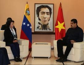 Chủ tịch Quốc hội Nguyễn Thị Kim Ngân hội kiến Tổng thống Venezuela