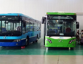 Dàn xe đặc biệt sắp chạy tuyến buýt nhanh đầu tiên ở Hà Nội