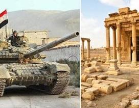 """Đặc nhiệm Nga tham chiến, """"Hổ"""" Tiger bỏ Aleppo về cứu Palmyra"""